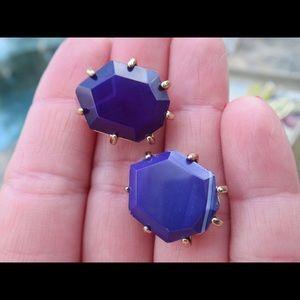 Kendra Scott Morgan Earrings purple Agate